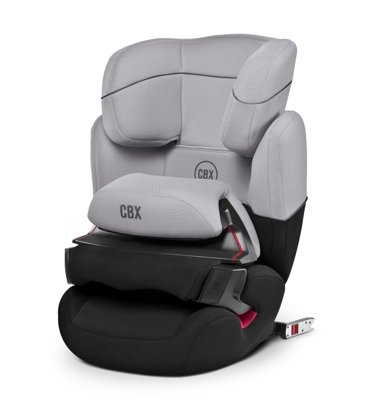 cbx by cybex child car seat aura fix 2016 gray rabbit