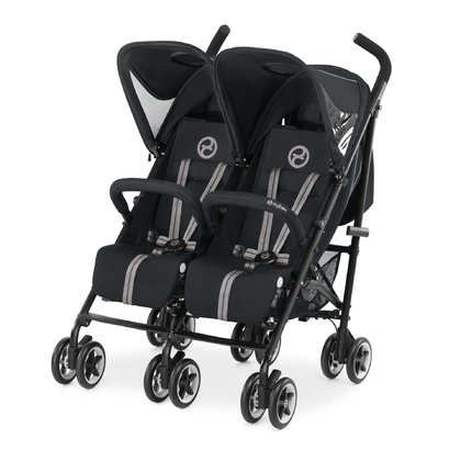 Cybex Twin Buggy Twinyx Stardust - black 2017 - large image