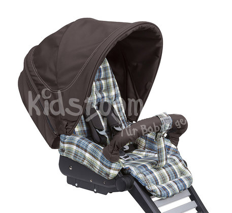 Teutonia Combi stroller BeYou! Pearl 5005_4865_Rustic Country 2015 - large image