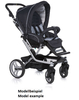 Teutonia Pushchair Mistral S Made for You 4835_Copper Orange 2013 - large image 2
