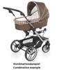 Teutonia Pushchair Mistral S Made for You 4835_Copper Orange 2013 - large image 3