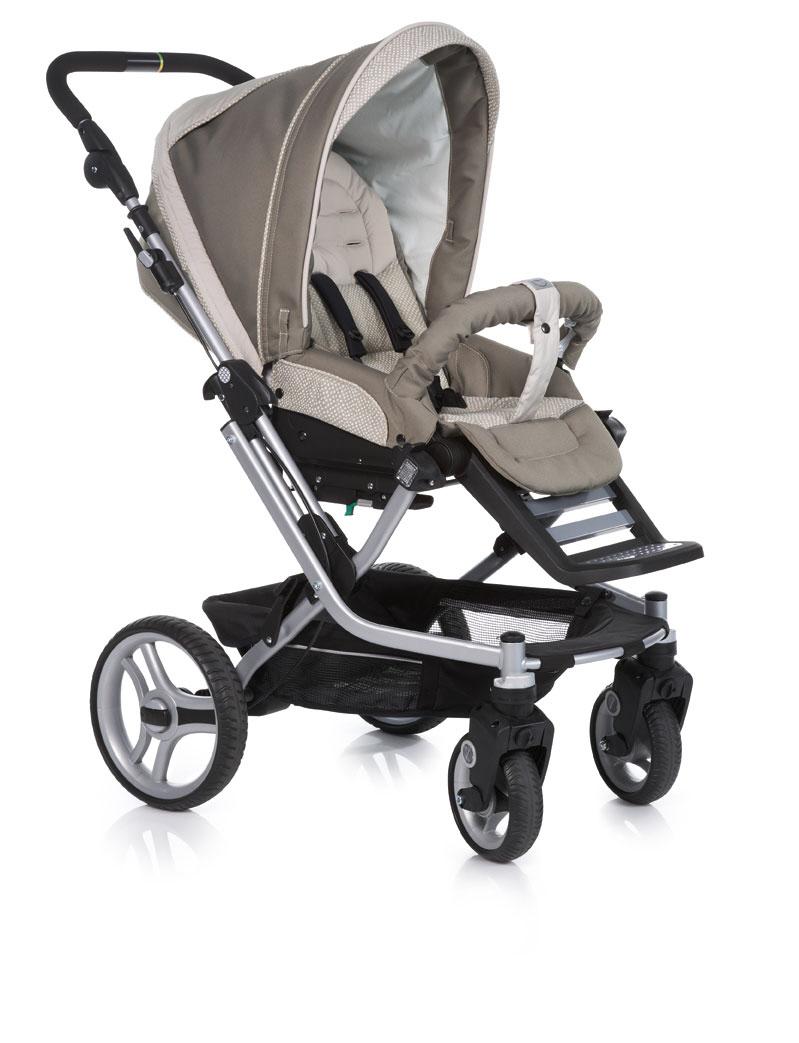 teutonia combi stroller mistral s graphite 2015 4925. Black Bedroom Furniture Sets. Home Design Ideas