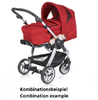 Teutonia Pushchair Cosmo Cool & Classic 4920_Grey Linen 2013 - large image 2