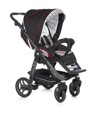 Teutonia Pushchair Cosmo Cool & Classic 4915_Midnight Black 2013 - large image