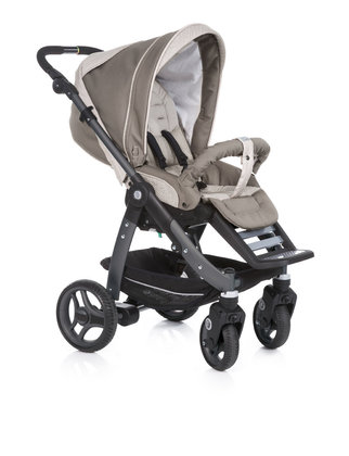 Teutonia Pushchair Cosmo Cool & Classic 4925_Desert Grey 2013 - large image