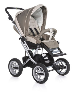 Teutonia Pushchair Mistral P Cool & Classic 4925_Desert Grey 2013 - large image