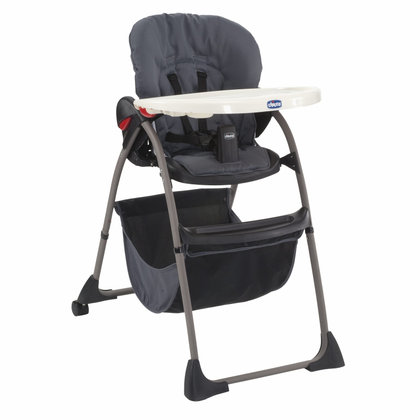 Chicco high chair Happy Snack Grey 2013 - large image