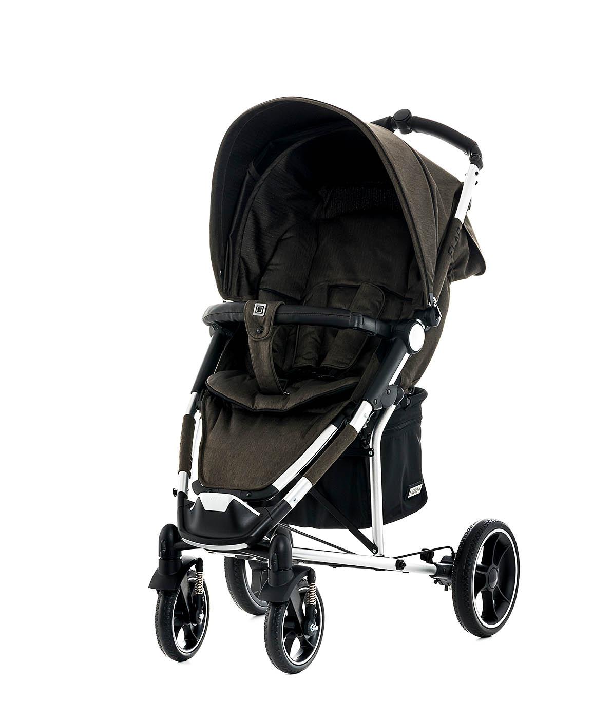 moon buggy flac 2018 brown fishbone buy at kidsroom strollers. Black Bedroom Furniture Sets. Home Design Ideas