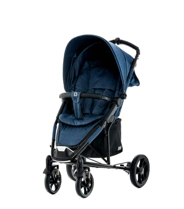 Moon Buggy Flac - * The Moon Flac is a buggy which is equipped with a full lying position and stylish handles in a leather look.