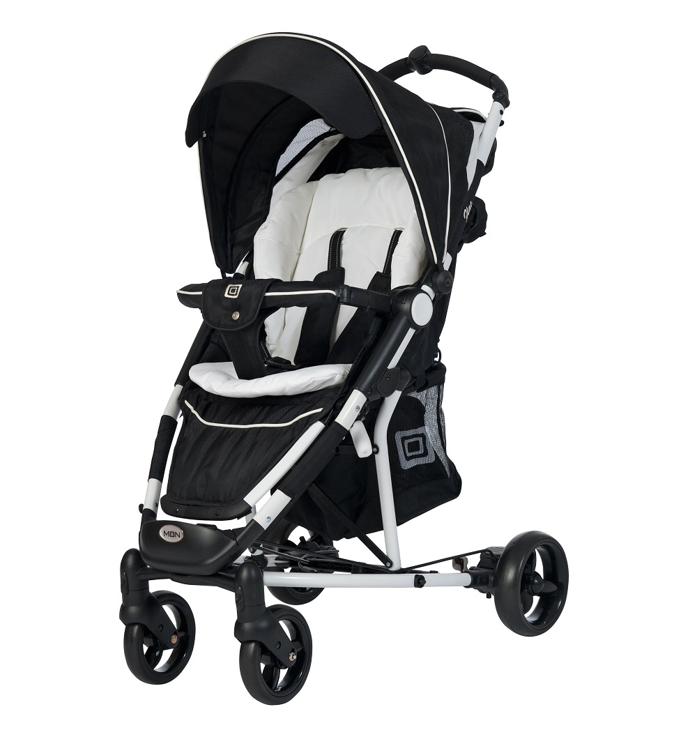 moon buggy flac 2018 black white buy at kidsroom strollers. Black Bedroom Furniture Sets. Home Design Ideas