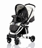 Babywelt Moon pushchair Flac Sport Black Stripes 2013 - large image 2