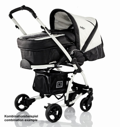 Babywelt Moon pushchair Flac Sport Black Stripes 2013 - large image