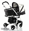 Babywelt Moon pushchair Flac Sport Black Stripes 2013 - large image 1