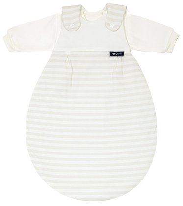 Alvi Baby-Mäxchen - the original sleeping system 117-6 Blockstreifen beige 2014 - large image