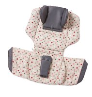 Gesslein Loop Seat Pad including Headrest - * You can upgrade your sports stroller with the Gesslein-Loop system