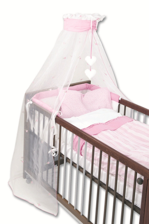 Gesslein Cot Set Pink Flower Kidsroom De
