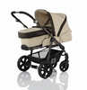 Babywelt Moon pushchair Beat + carrycot Sand & Brown 2013 - large image 2
