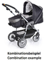 Teutonia Pushchair Fun System Cool & Classic 4905_Blue Jeans 2013 - large image 2