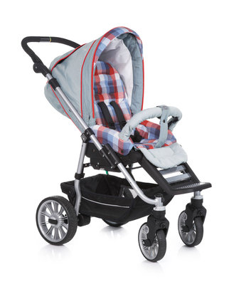 Teutonia Pushchair Fun System Cool & Classic 4905_Blue Jeans 2013 - large image