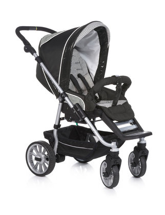 Teutonia Pushchair Fun System Cool & Classic 4910_Black Pearl 2013 - large image