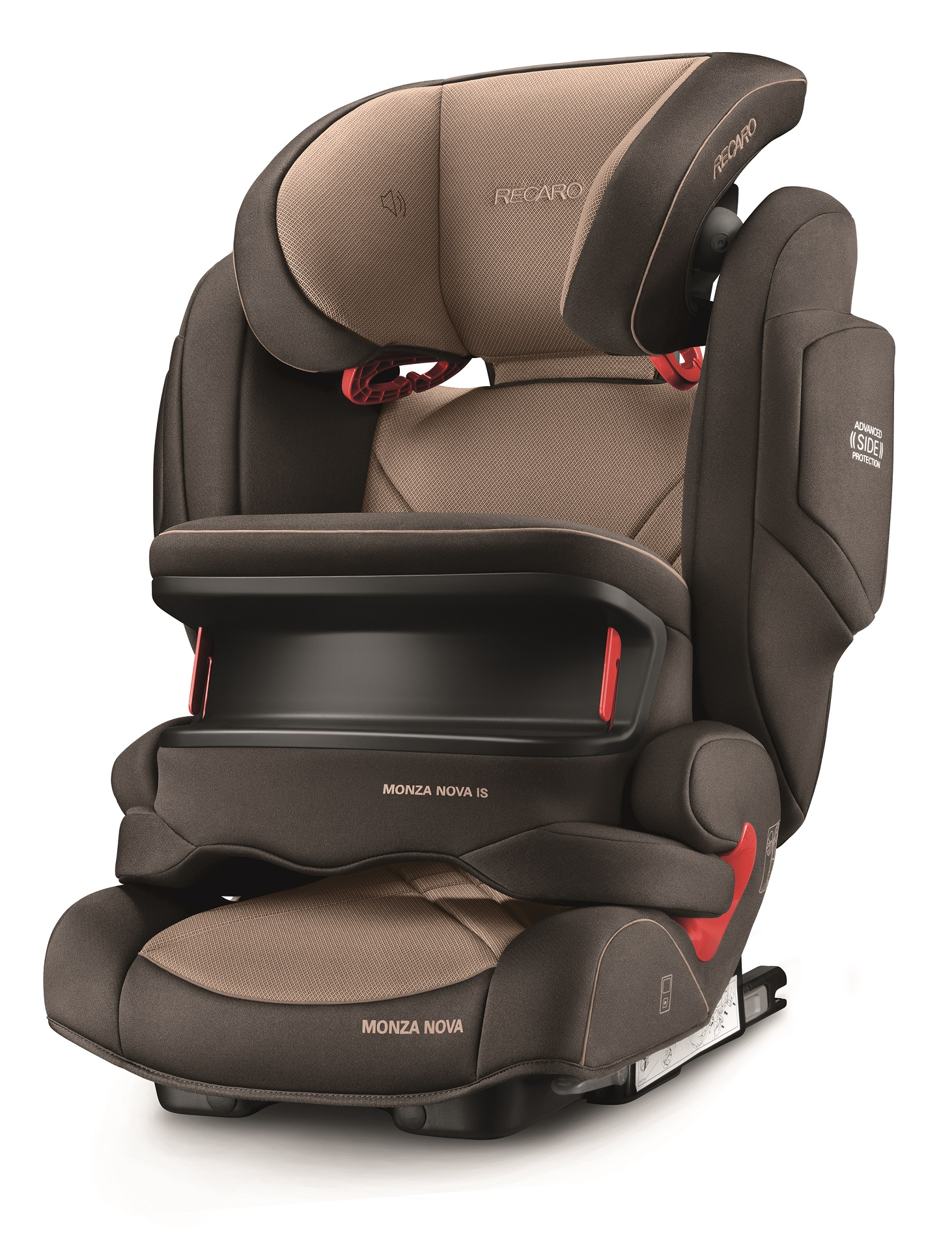 recaro child car seat monza nova is seatfix 2018 dakar sand buy at kidsroom car seats. Black Bedroom Furniture Sets. Home Design Ideas