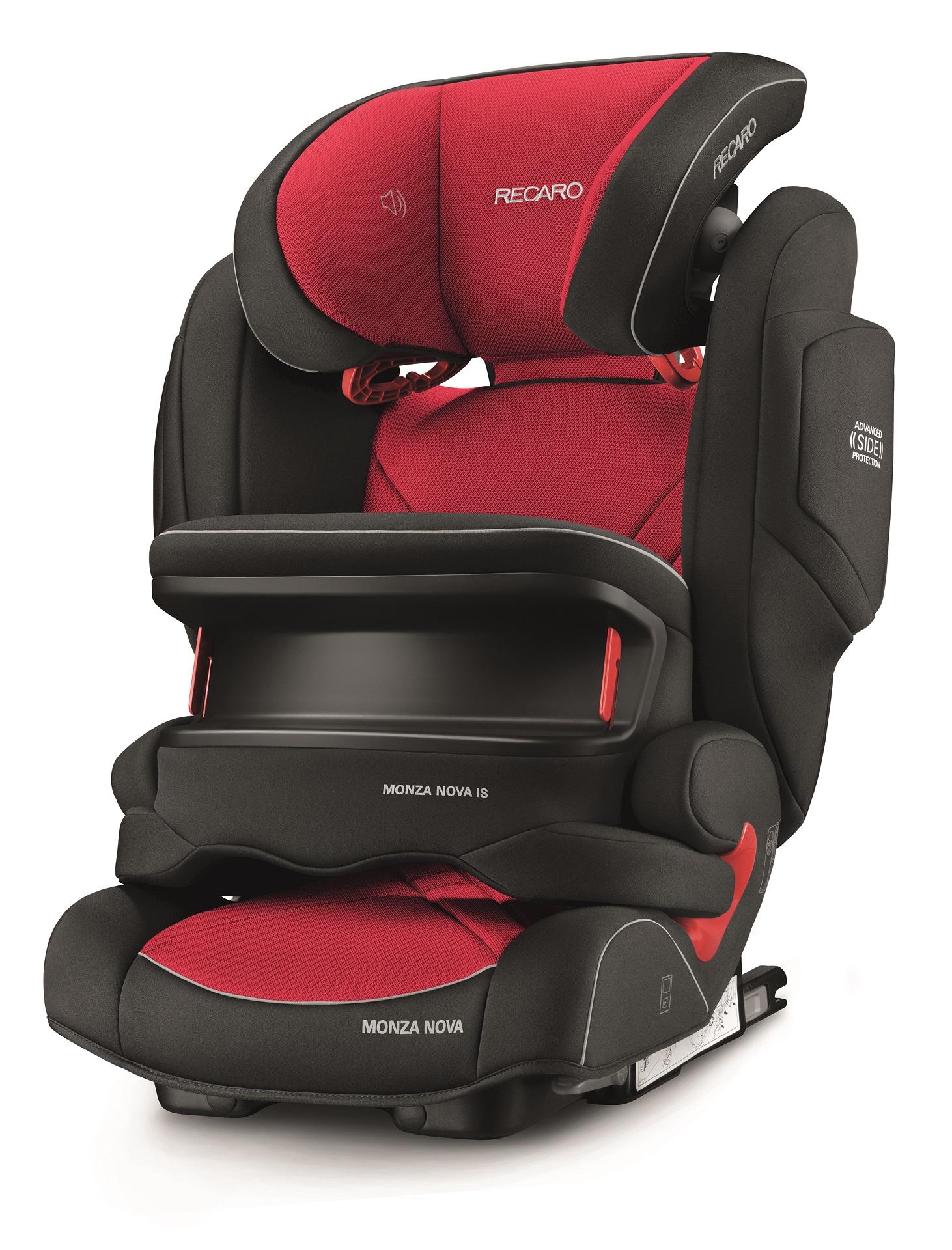 Recaro Child Car Sear Monza Nova IS Seatfix 2018 Racing Red - Buy at