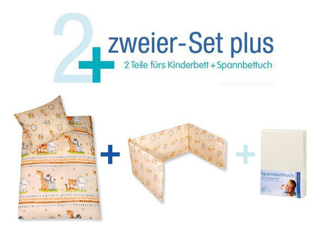 Zöllner bed set - Two Set Plus African Dreams Natur 2014 - large image