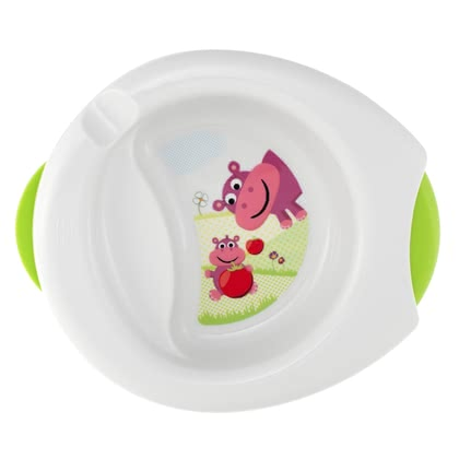 Chicco 2 in 1 Warming Plate -  * The Chicco warming plate keeps baby's meal longer warm.
