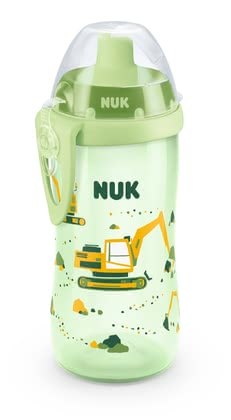 NUK Flexi Cup -  * Soft straw with special valve * No spills by residual liquid
