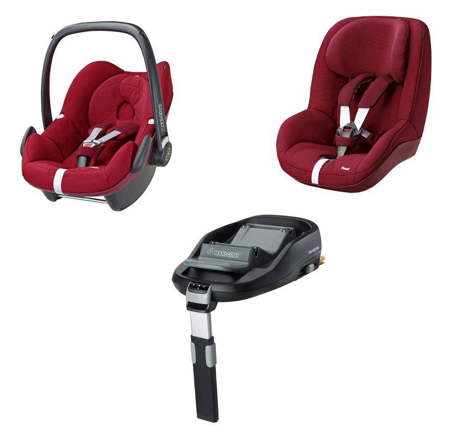 maxi cosi familyfix safety concept 2018 robin red buy at. Black Bedroom Furniture Sets. Home Design Ideas