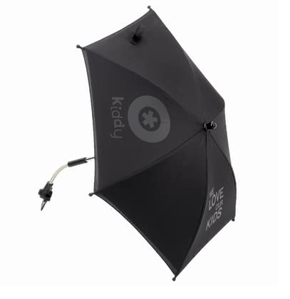 Kiddy Parasol -  * The Kiddy parasol protects your loved one from direct sunlight, is suitable for the baby car seat Evolution pro and can be mounted with an adapter on all standard strollers