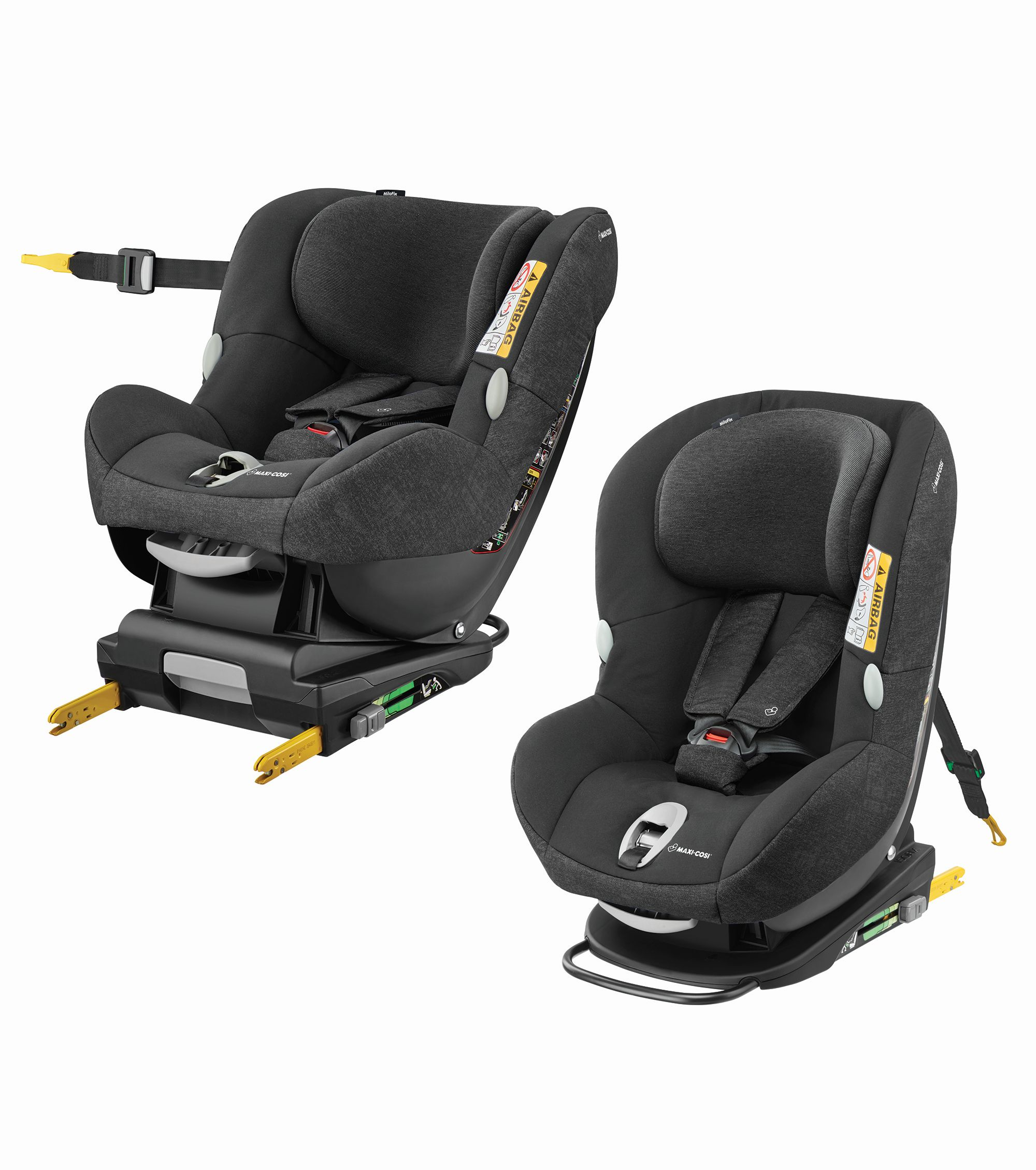 maxi cosi child car seat milofix 2018 nomad black buy at kidsroom car seats isofix child. Black Bedroom Furniture Sets. Home Design Ideas