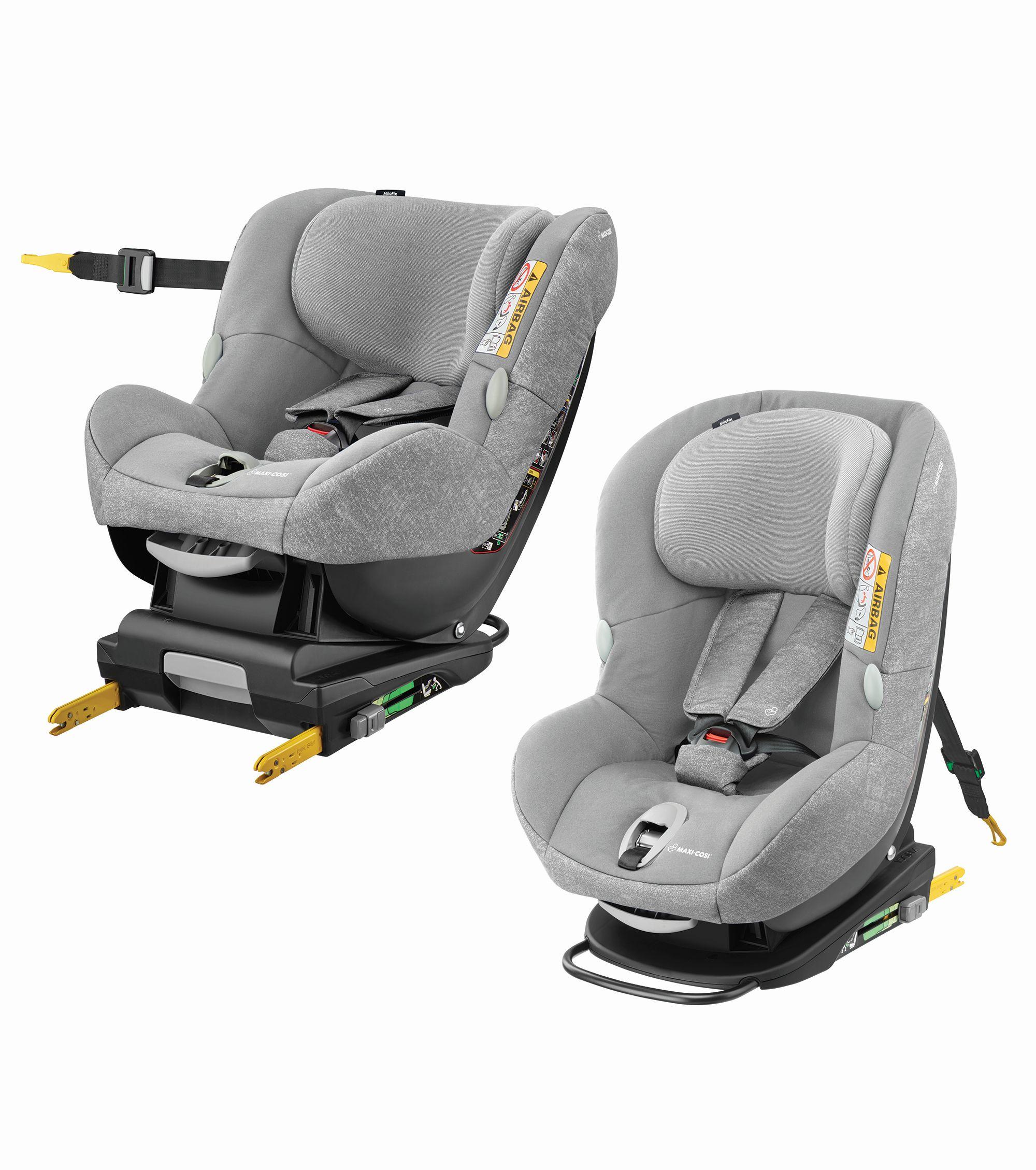 maxi cosi child car seat milofix 2019 nomad grey buy at kidsroom car seats isofix child. Black Bedroom Furniture Sets. Home Design Ideas