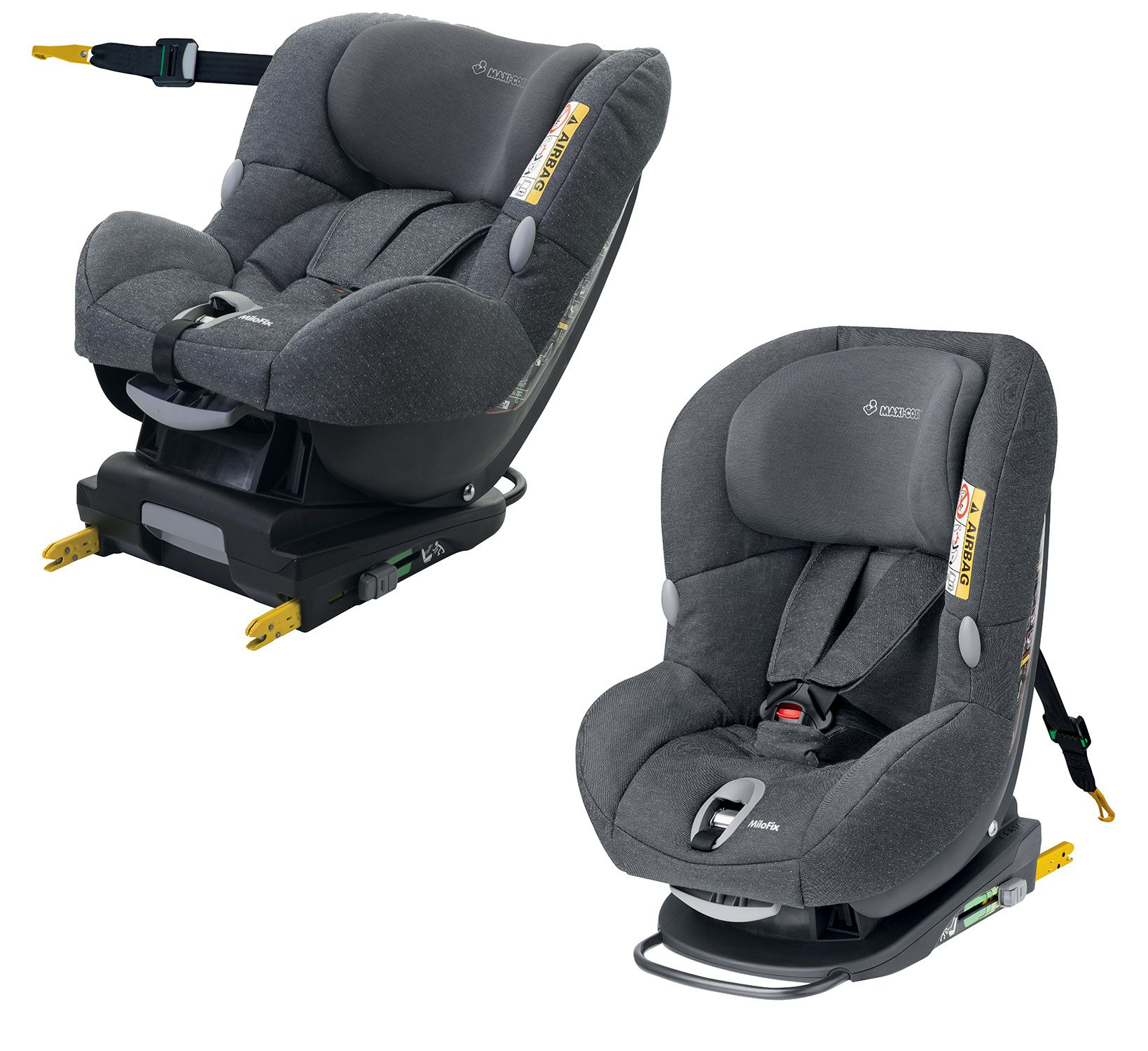 maxi cosi child car seat milofix 2018 sparkling grey buy at kidsroom car seats isofix. Black Bedroom Furniture Sets. Home Design Ideas