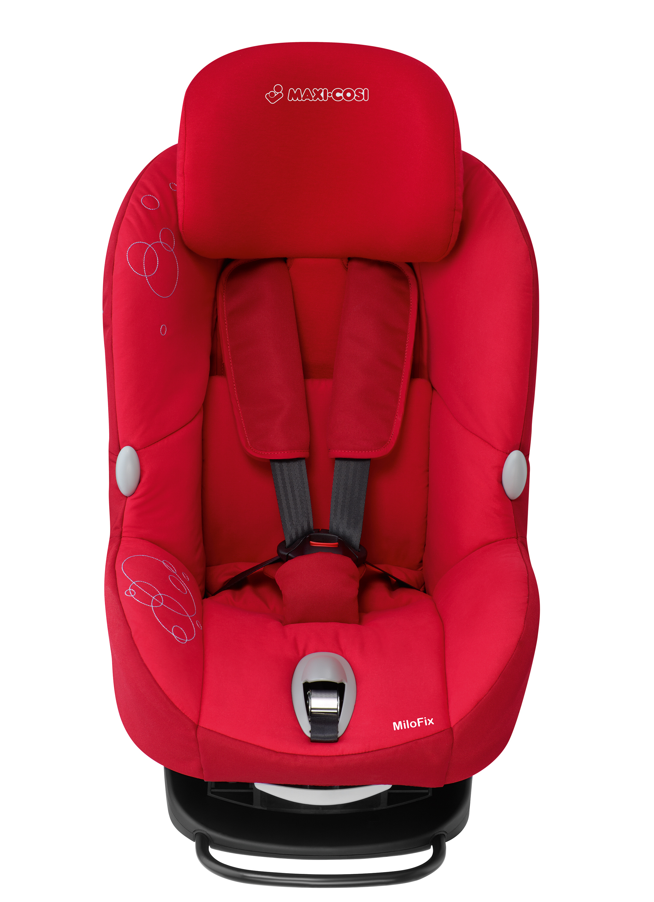 maxi cosi child car seat milofix 2013 intense red buy at kidsroom car seats isofix child. Black Bedroom Furniture Sets. Home Design Ideas