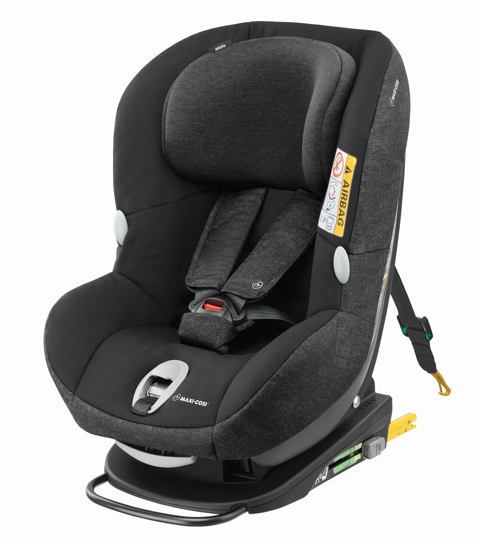 maxi cosi child car seat milofix 2018 nomad black buy at. Black Bedroom Furniture Sets. Home Design Ideas