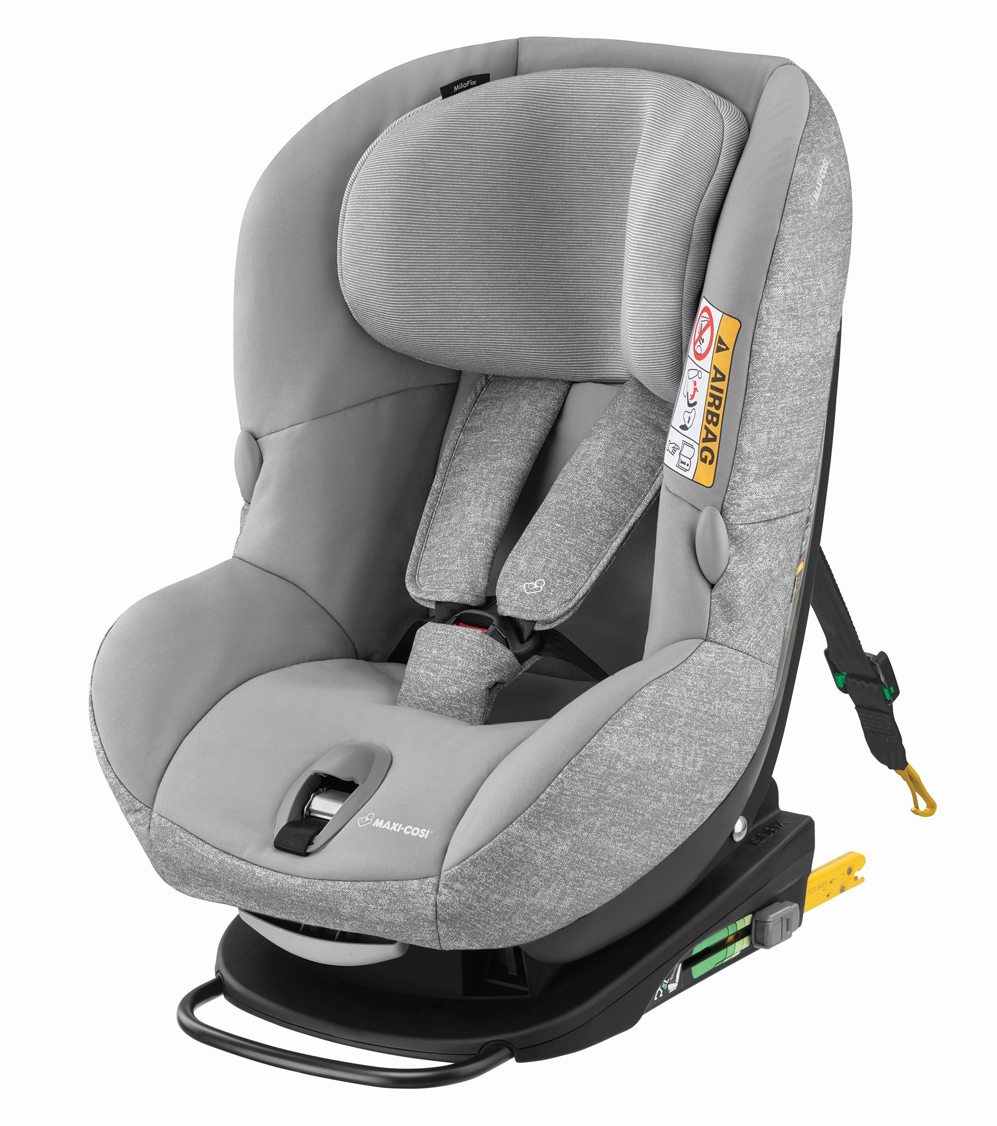 maxi cosi child car seat milofix 2018 nomad grey buy at kidsroom car seats isofix child. Black Bedroom Furniture Sets. Home Design Ideas