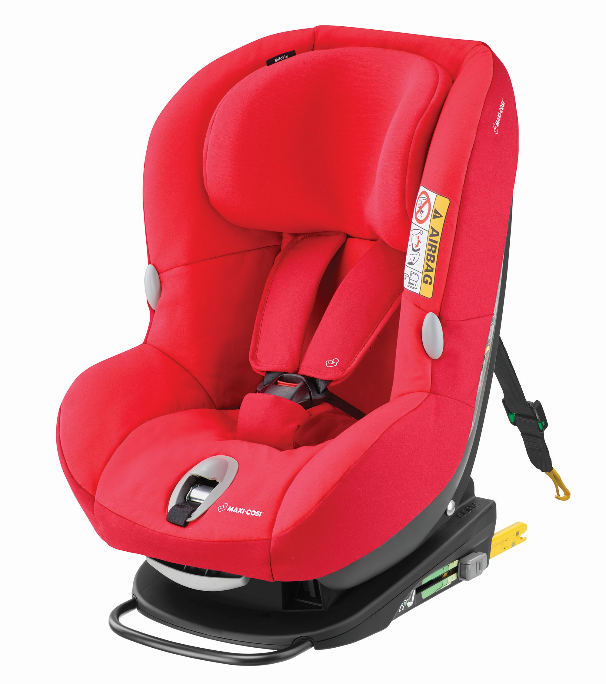 maxi cosi child car seat milofix 2018 vivid red buy at kidsroom car seats isofix child car. Black Bedroom Furniture Sets. Home Design Ideas