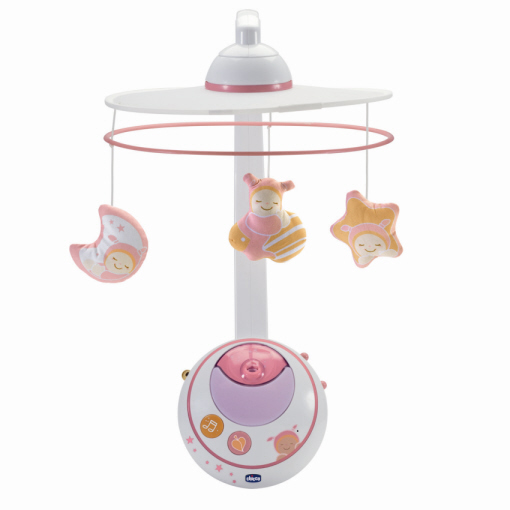 Buy kidsroomToys Stars at Mobile Chicco Rosa Cot Magic eW2YEHI9D