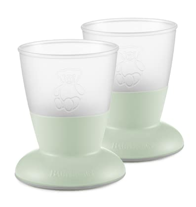 BabyBjörn Baby Cup -  * The colorful cup of BabyBjörn is the ideal drinking vessel for learning for your sunshine so it learns how to drink as his role model, from an open glass.