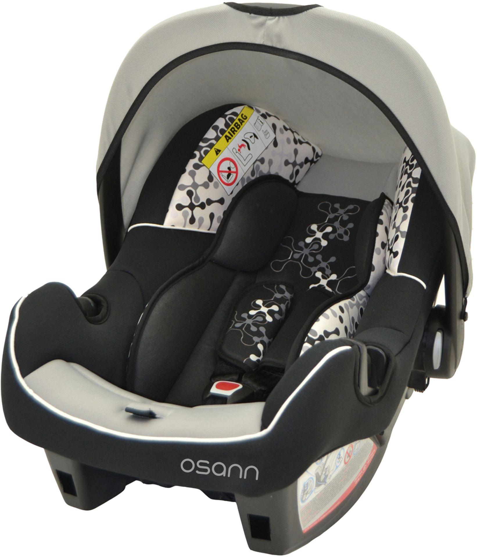 osann baby car seat beone sp 2016 black buy at kidsroom car seats. Black Bedroom Furniture Sets. Home Design Ideas