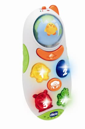 Chicco Globetrotter Mobile Phone -  * With the fun and easy-to-use Chicco Globetrotter phone makes the approach to a foreign language a lot of fun!