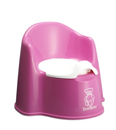 BabyBjörn potty chair Pink 2016 - large image