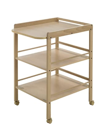 Geuther Changing Table Clarissa -  * Clarissa provides the ideal solution for when you need a space-saving place to change your little one's nappies in.