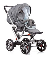 Gesslein Stroller F10 Air+ - * The Gesslein F10 stroller offers driving comfort on every kind of road thanks to 4 big wheels