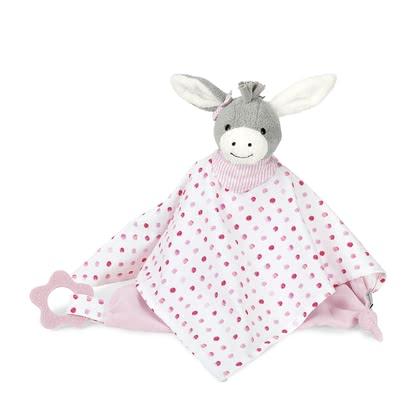 Sterntaler Cuddle Blanket with Teether -  * The Sterntaler cuddly blanket invites to cuddle and loving