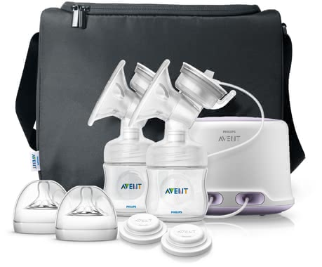 AVENT Comfort double electric breast pump - The Avent comfort twin electronic breast pump is ideal for mommies which regularly express breast milk.