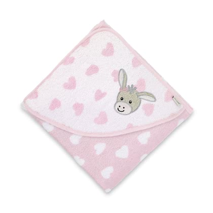 Sterntaler Hooded Towel -  * The Sterntaler hooded towel is ideal for the bath of your sweetheart and is available in two different sizes