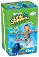 Huggies Swim Nappies, Size 3/4 -  * Does your little one love swimming and splashing in the water? Then, Huggies' swim nappies come in super handy.