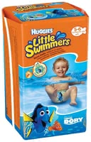 Huggies Swim Nappies, Size 5/6 -  * Does your little one love swimming and splashing in the water? Then, Huggies' swim nappies come in super handy. Whether you are on the beach or in an outdoor or indoor swimming pool, these amazing nappies are the perfect choice for little water lovers. Being equipped with them will turn every swimming session into a relaxed and fun experience for you and your child.